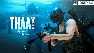 PUBG MOBILE LIVE WITH DYNAMO | CHICKEN DINNER MILEGA KYA DYNAMO KO.? | SUBSCRIBE & JOIN ME