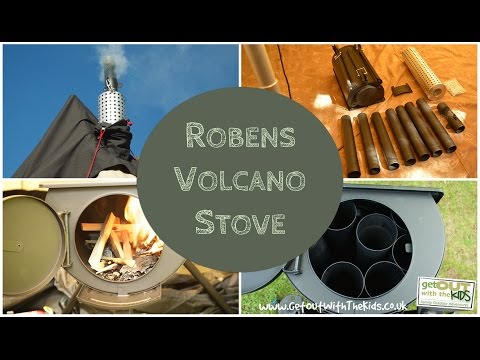 video Robens Volcano Tent Stove Review