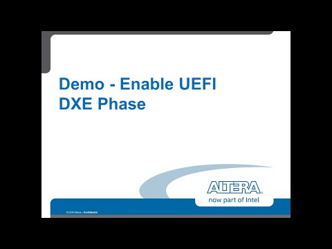 Demo - Enable UEFI DXE Phase