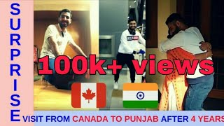 SURPRISE VISIT FROM CANADA TO INDIA AFTER 4 YEARS | FUN ASSISTANTS