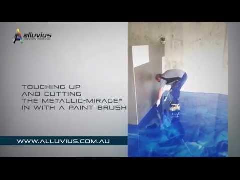 Alluvius METALLIC-MIRAGE™ Metallic Epoxy Flooring Install Guide