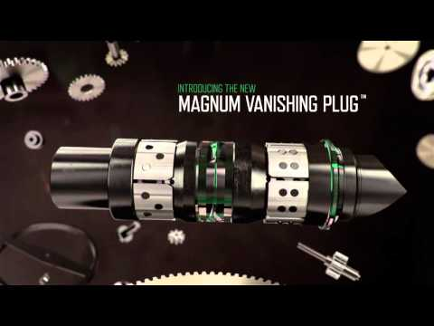 The All New Magnum Vanishing Plug™ - It's About Time