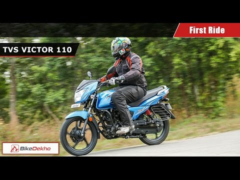 New TVS Victor 110 | First Ride | BikeDekho.com