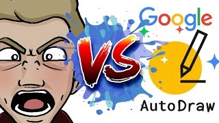 ARTIST Vs. AUTODRAW! - Head to Head with Google AI Art!