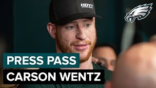 Carson Wentz Looks to Bounce Back in 2019 | Eagles Press Pass