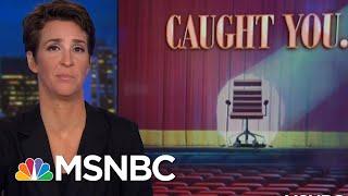 E-Mail Revelation Puts Neat Bow On President Donald Trump FBI HQ Scandal | Rachel Maddow | MSNBC