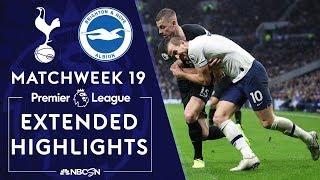 Tottenham v. Brighton | PREMIER LEAGUE HIGHLIGHTS | 12/26/19 | NBC Sports