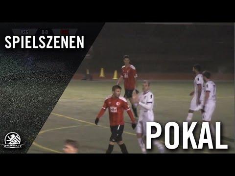 VSG Altglienicke - Berliner AK 07 (Achtelfinale, Berliner Pokal der 1. Herren 2016/2017) - Spielszenen | SPREEKICK.TV