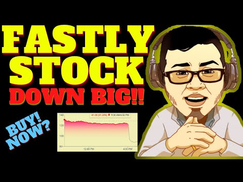 FASTLY STOCK DOWN BIG! TIME TO BUY FASTLY STOCK? (FSLY STOCK ANALYSIS)