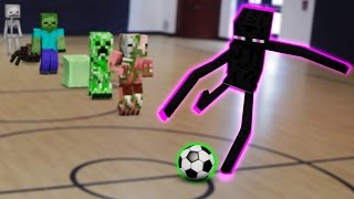 Monster School: Soccer | Archery | Fishing | Baseball | Basketball | (Monster School Compilation)