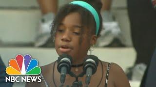 Yolanda Renee King's Inspiring Message To Other Kids   NBC Nightly News