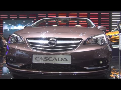 Opel Cascada Cosmo 1.6 ECOTEC DIT 125 kW 6AT (2016) Exterior and Interior in 3D
