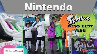 Nintendo Minute – AMAZE-INK MAY Splatoon Mess Fest Vlog