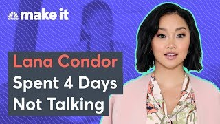 How Lana Condor Recharged After 'To All The Boys I've Loved Before'