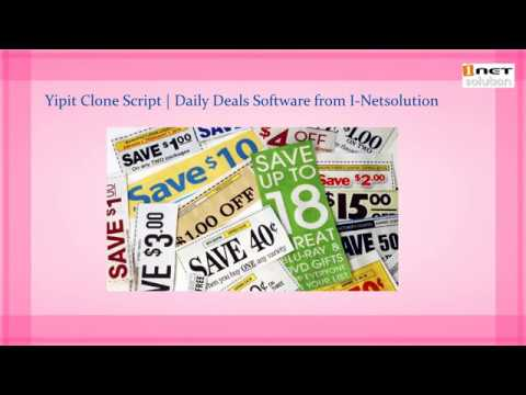 Daily Deals Software | Yipit Clone Script from I-Netsolution