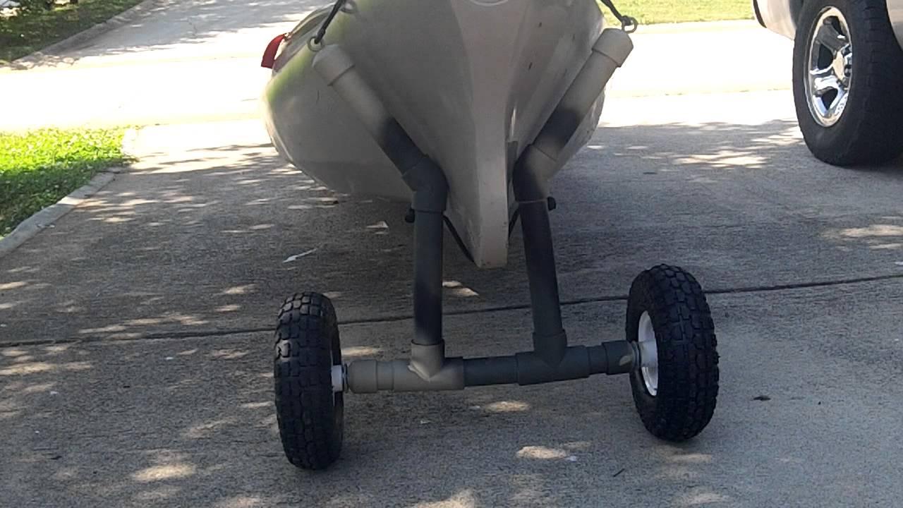 Diy Kayak Canoe Cart Youtube