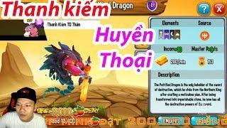 ✔️ Rồng thanh kiếm huyền thoại dễ thương High Commander Dragon City Nông Trại Rồng HNT Channel New 4