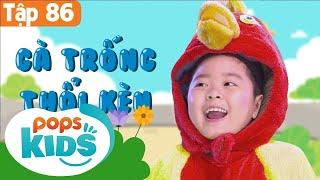Mầm Chồi Lá Tập 86 - Gà Trống Thổi Kèn   Nhạc thiếu nhi remix sôi động   Vietnamese Kids Songs