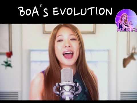 BoA's EVOLUTION (2000 - 2017)