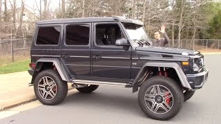 The Mercedes G550 4x4 Squared Is a $250,000 German Monster Truck