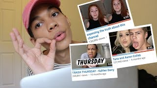 Reacting to Tana Mongeau's Collab Channel TRASH + EXPOSING the TRUTH