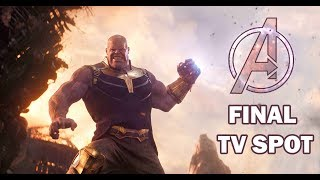 Marvel Studios' Avengers: Infinity War -- Chaos --  Final TV Spot