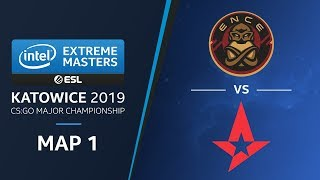 CS:GO - ENCE vs Astralis [Train] Map1 - Final - Champions Stage - IEM Katowice 2019