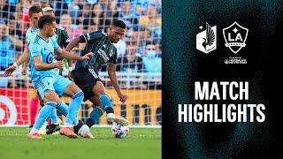 HIGHLIGHTS: Minnesota United vs. LA Galaxy | August 14, 2021