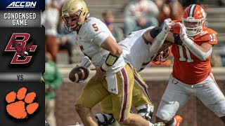 Boston College vs. Clemson Condensed Game | 2020 ACC Football