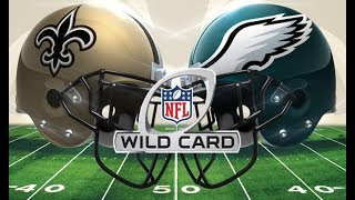 2013 Wild Card Saints @ Eagles