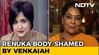 'Lose Weight', Venkaiah to Renuka: Banter or Sexism?..