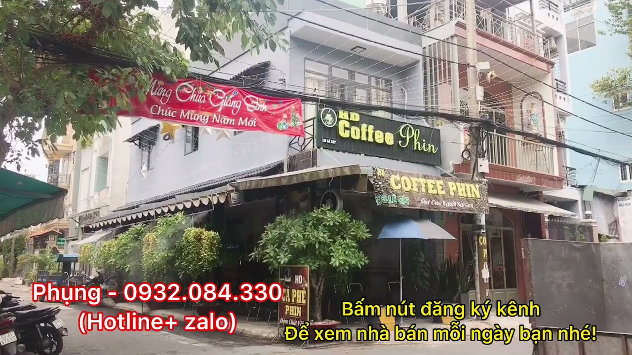 Bán nhà góc 2 MTKD đường Lê Sát, 4m x 15m, giá 11 tỷ, P. Tân Quý, Q. Tân Phú video