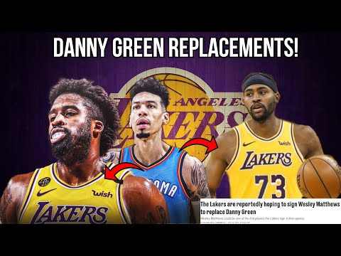 Top 5 Free Agents the Lakers Should Target as REPLACEMENTS for Danny Green! Lakers Free Agency 2020