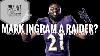 #Raiders Mark Ingram A Raider???? We Are Live!!!!!!!