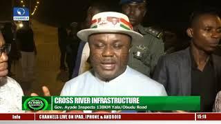 Governor Ayade Inspects 138km Yala/Obudu Road