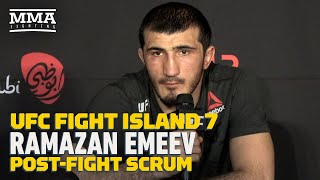 UFC Fight Island 7: Ramazan Emeev Admits He Needs To Work On Having 'More Exciting Fights'