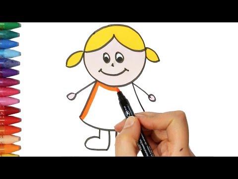 How To Draw A Cat Cara Menggambar Kucing Untuk Anak Anak