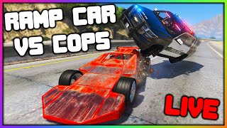 GTA 5 Roleplay LIVE - RAMP CAR TROLLING AND MORE   RedlineRP