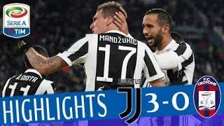 Juventus - Crotone 3-0 - Highlights - Giornata 14 - Serie A TIM 2017/18