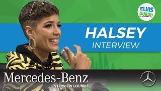 Halsey's Heartfelt Message to Her Fans   Elvis Duran Show
