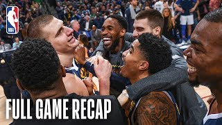 MAVERICKS vs NUGGETS | Wild & Awesome Finish In Denver | March 14, 2019