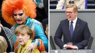 Die verrücktesten Momente im deutschen Bundestag