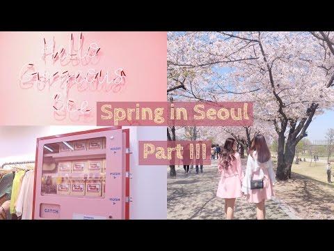 Spring in Seoul, Korea (Style Nanda, SM COEX, Yeouido Park) VLOG