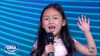 GMA Days epic diva surprise for pint sized singing superstar Malea Emma