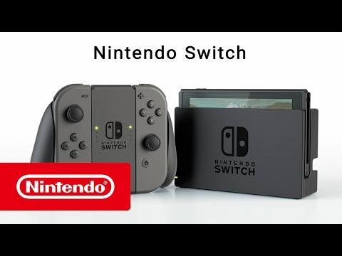 Nintendo Switch – Vue d'ensemble de la console - YouTube