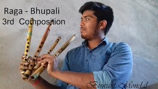 Raga Bhupali 3rd composition//Flute instrumental// Indian Classical Music