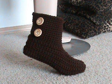 Crochet Glama S 2 In 1 Bootie Slipper Tutorial Super Easy
