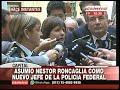 Asumió Néstor Roncaglia, como nuevo Jefe de la Policía Federal