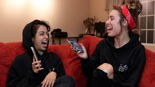 REACTING TO OLD INSTAGRAM PICS w/ Liza Koshy