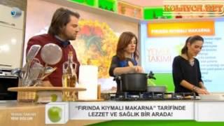 Yemek Takımı Kıymalı Fırın Makarna Tarifi Canlı izle 13.11.2013